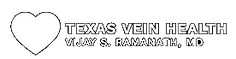 Texas Vein Health White Logo