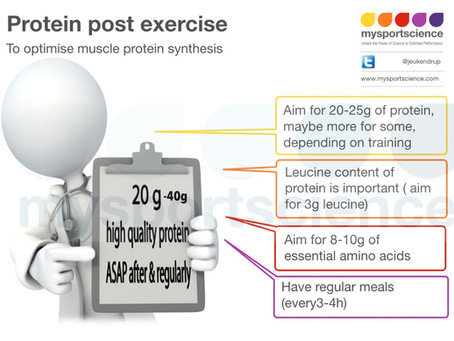 Protein intake guidelines for athletes