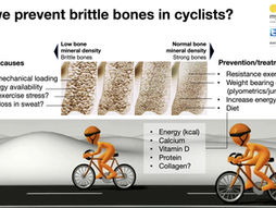 Low bone density in cyclists