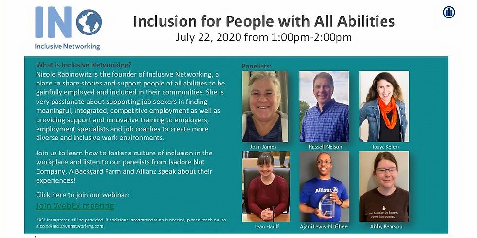 Inclusion for People with All Abilities
