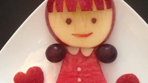 可愛蘋果娃娃食譜