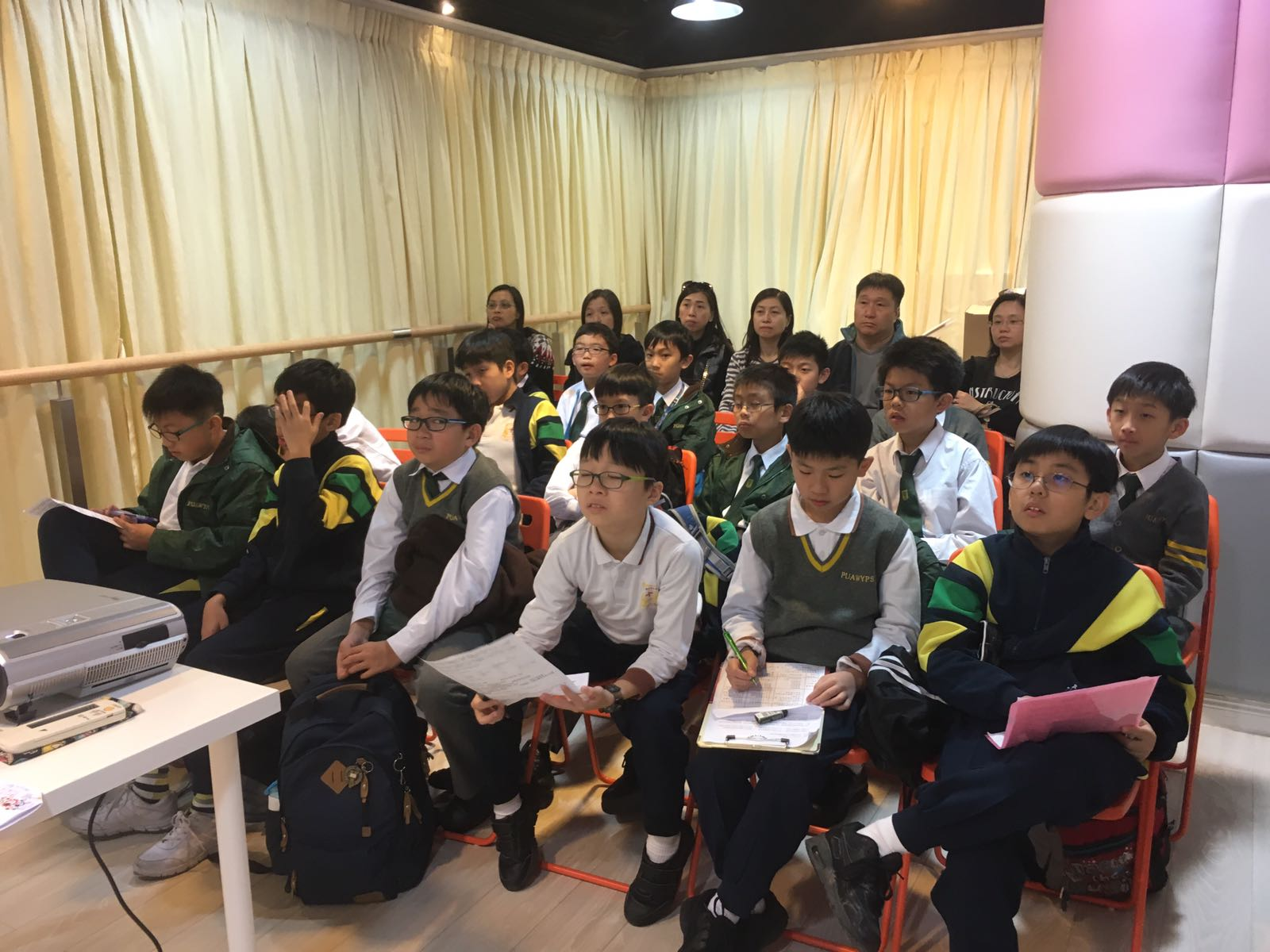 2016 華仁小學參觀馬寶學林