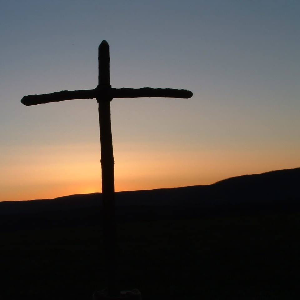 cross pennay hill sunrise