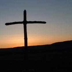 cross pennay hill sunrise