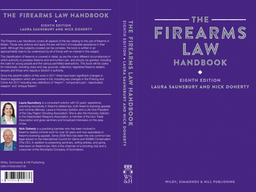 Firearms Law Handbook