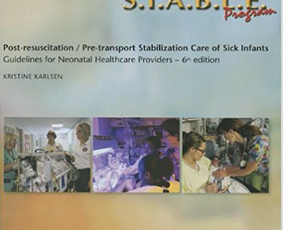 S.T.A.B.L.E Course August 28,2020 8am