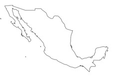 mexico-solid-black-outline-border-map-of