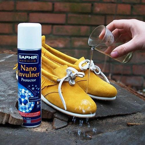 Saphir Beaute du Cuir Nano Invulner Waterproofing Spray 250ml (Natural)