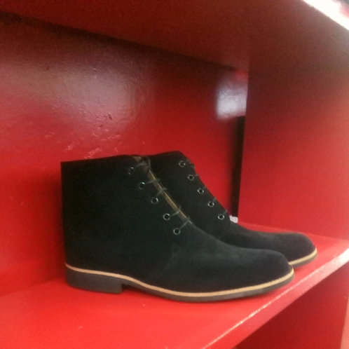 The Boot (Black Suede)