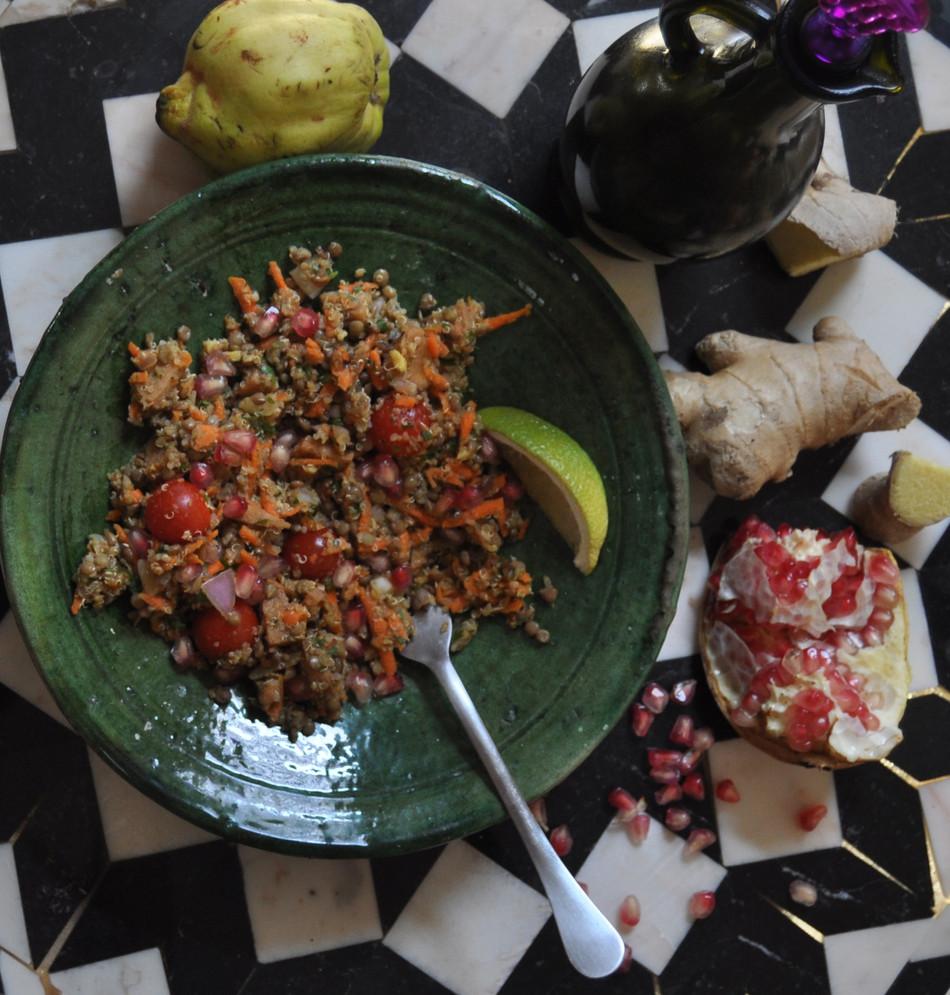 Quinoa Salad with Argan Oil