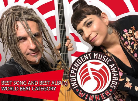 KETER wins TWO Independent Music Awards for Best Song and Best Album in the World Beat Category!!!