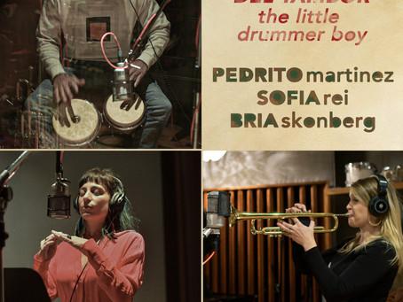 """PEDRITO MARTINEZ, SOFIA REI & BRIA SKONBERG Release """"El Niño del Tambor"""" (Little Drummer Boy)"""