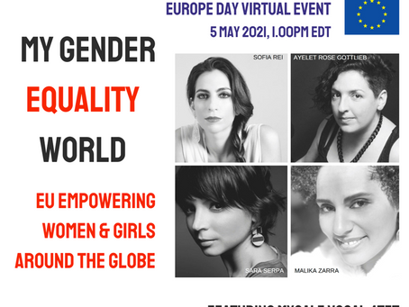 Mycale Vocal Quartet will perform at the United Nations Europe Day Event devoted to gender equality.