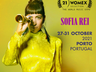 Sofía got selected for an official showcase at WOMEX 2021! See you in Portugal :)