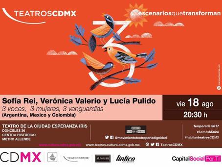 Teatro de la Ciudad Esperanza Iris, México DF