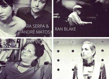 Act 4 Music Festival Friday, May 8th Sara Serpa & André Matos, Ran Blake, Fay Victor, Sofía Rei