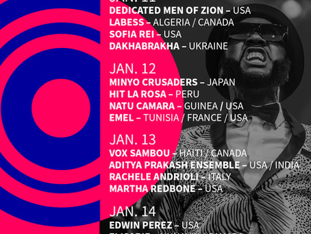 Tiny Desk meets globalFest, Monday Jan 11@ 8pm