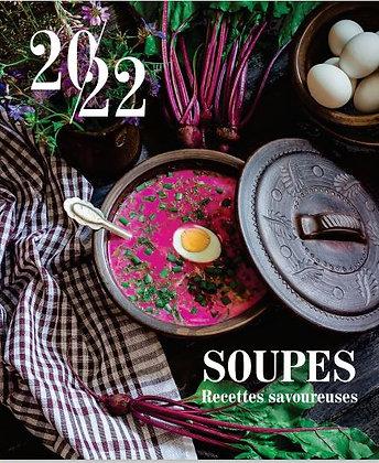 Recettes de soupes savoureuses - Calendriers magnétiques 2022