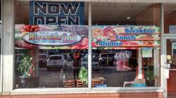 restaurant window colour graphics