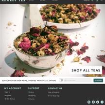 Remedy Tea Rebrand