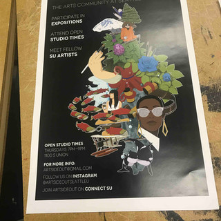 Art Side Out Poster Contest