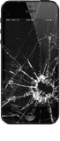 3x4 foot Cracked IPhone