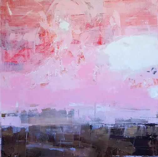 Ric Burkitt: each painting becomes itself