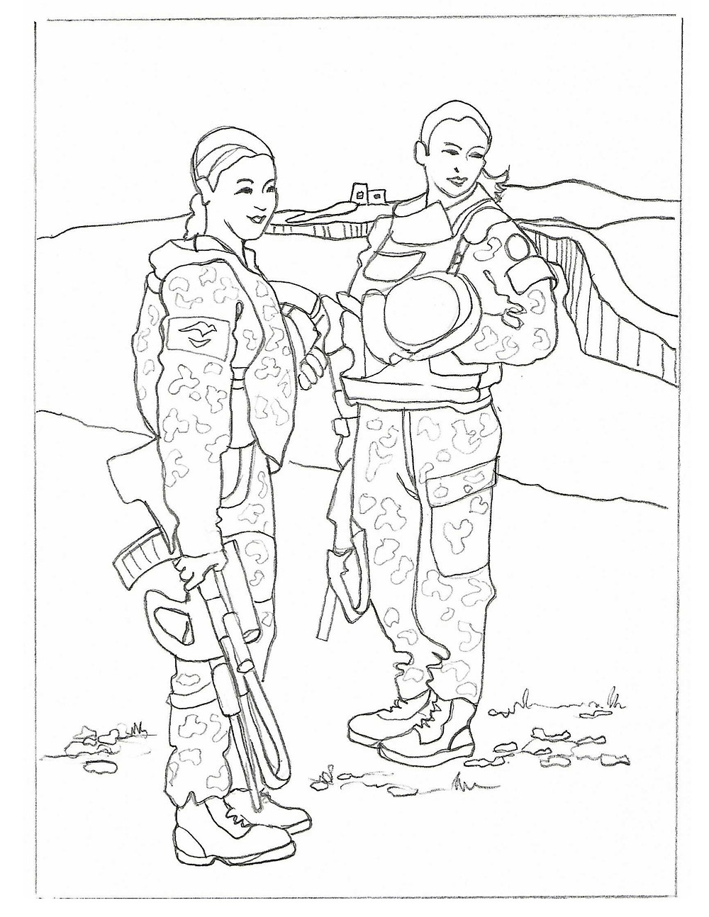Two Soldiers Beth Law