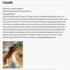 Art Almanac listing 2018-07-27 at 10.32.