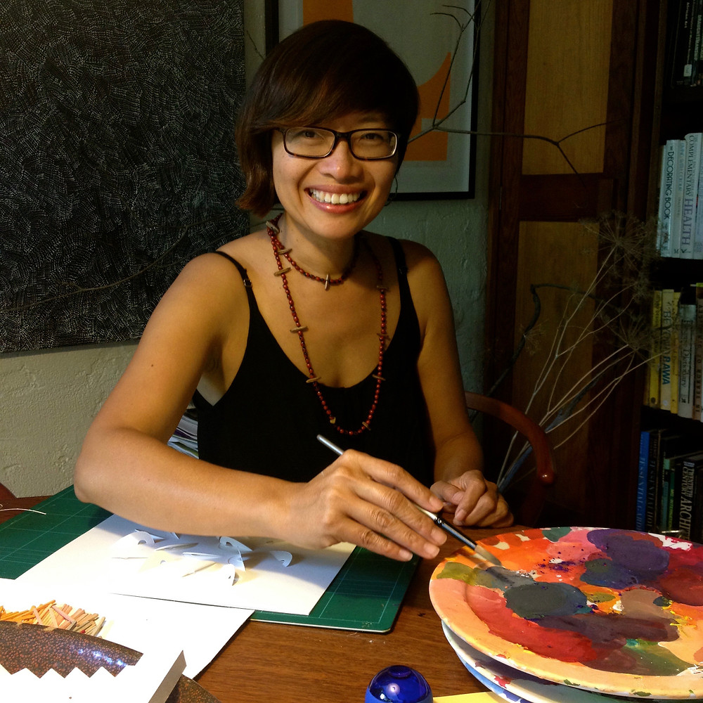 Artist Sarah Thornton Smith