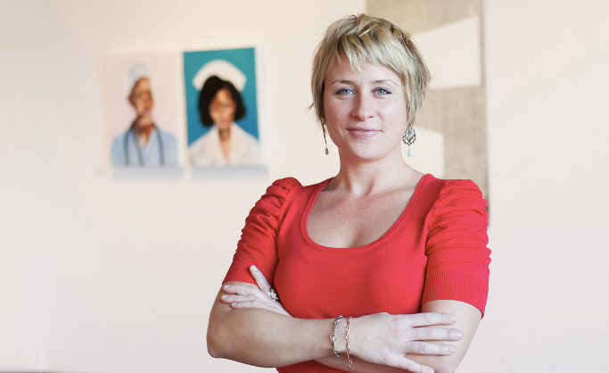 Juliet King talk to Army Art about neuroscience, art therapy and creativity