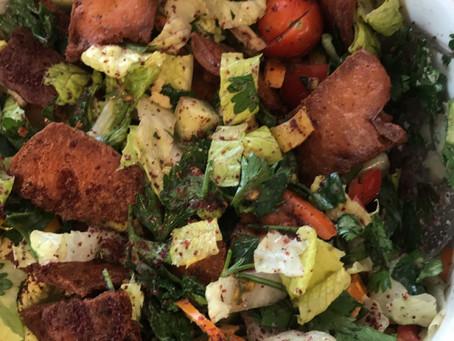 Fatoush (Lebanese salad)