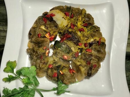 Arabic Kofta and Vegetable Wreath
