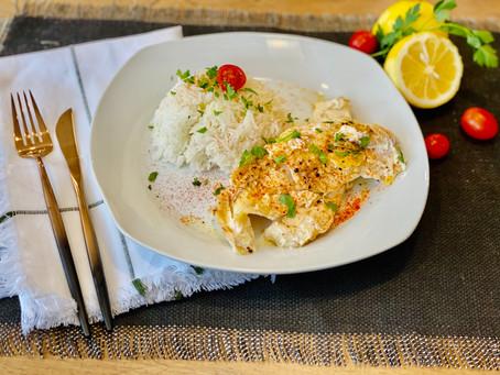 Greek Fish Psari me Lemoni