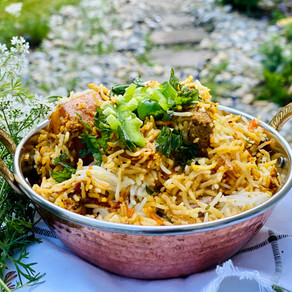 Instant Pot Mutton Biryani