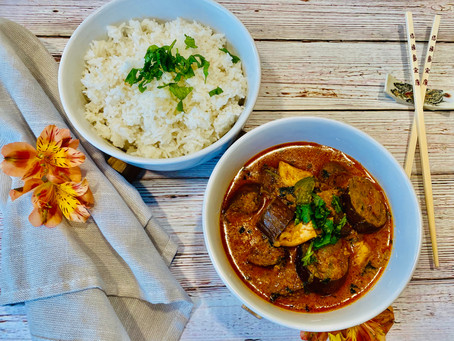 Thai Curry with Chicken & Eggplant