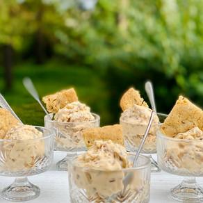 Butterscotch Pecan Ice Cream