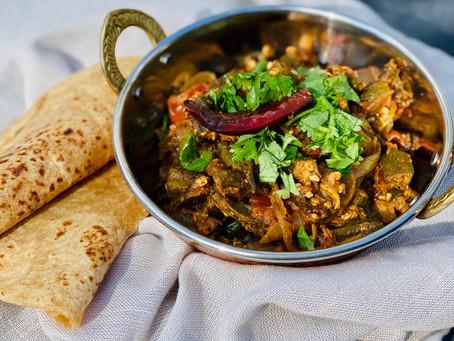 Achari Bhindi (Spicy Okra)