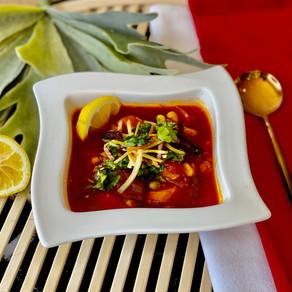 Vegetable Barley Soup Instant Pot Version