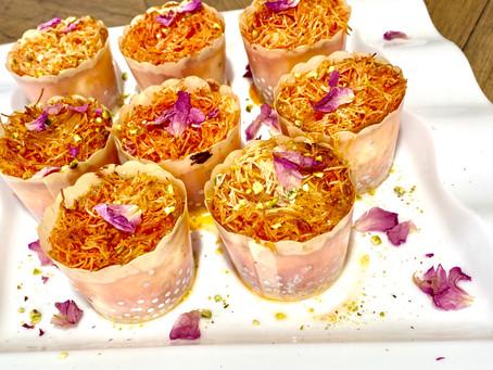 Kunafa Cupcakes
