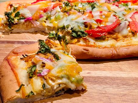 Chicken Tikka Paneer Tikka Masala Pizza