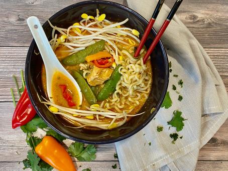 Thai Style Ramen Noodles