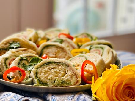 Pinwheel Chicken Sandwiches