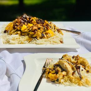 Mango Chicken & Rice