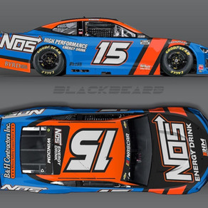 Chris Windom to Make NASCAR Cup Series Debut with NOS Energy at Bristol Motor Speedway