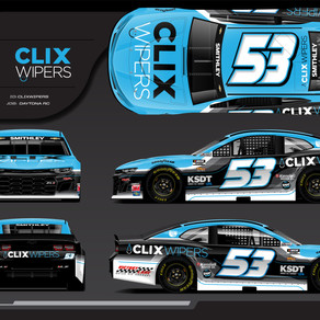 Clix Wipers Joins RWR, Smithley as Primary Sponsor at Daytona Road Course