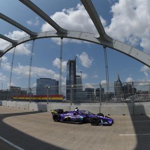 Grosjean to Start Fifth in Inaugural Music City Grand Prix