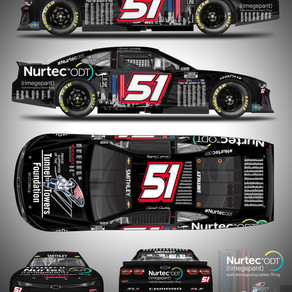 RWR & Nine Line Apparel Honor 9/11 Victims on Biohaven's Nurtec ODT Car on 20th Anniversary at RR