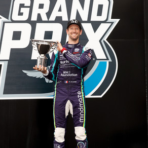 Dominating Run Ends with Second PlaceFinish for Grosjean at Indy