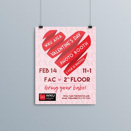 AIGA Valentine's Day Photo Booth